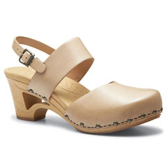 Dansko Thea Full Grain Leather Sand Sandals