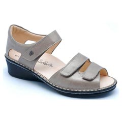 Finn Comfort Fes Leather Fango Sandals