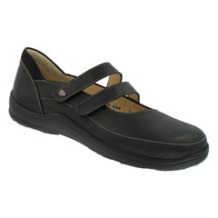 Finn Comfort Jerez Nubuck Black Shoes