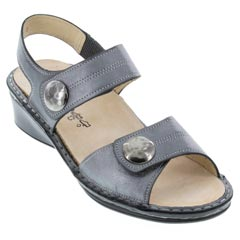 Finn Comfort Alanya Luxory Leather Anthracite