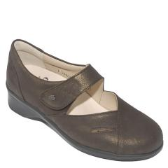 Finn Comfort Aquila Leather Kaffeeoro Shoes