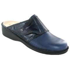 Finn Comfort Aussee Leather Soft Footbed Atlantic Clogs