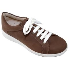Finn Comfort Bradford Leather Wood Shoes