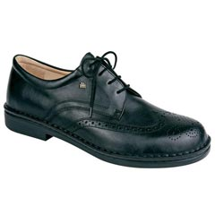 Finn Comfort Budapest Leather Black Shoes