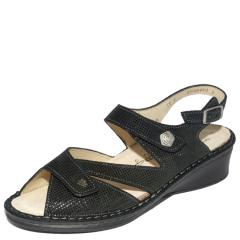 SANTORIN LEATHER SOFT FOOTBED BLACK
