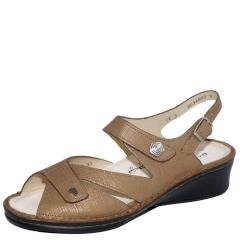 SANTORIN LEATHER SOFT FOOTBED ORO