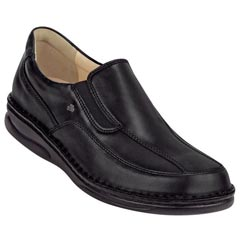 Finn Comfort Carballo Leather Black Shoes