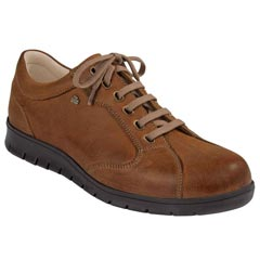 Finn Comfort Chennai Leather Cinnamon Shoes