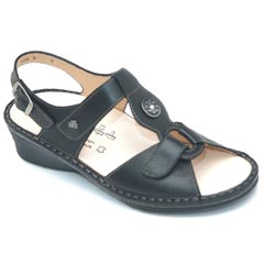 Finn Comfort Adana Leather Black