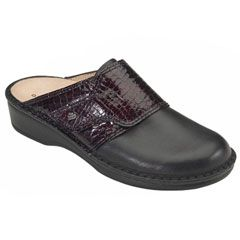 Finn Comfort Aussee Leather Soft Footbed Black
