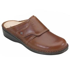 Finn Comfort Aussee Leather Soft Footbed Tobacco