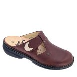 FINN COMFORT BELEM LEATHER SOFT FOOTBED BRANDY