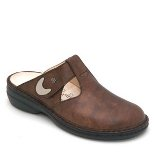 FINN COMFORT BELEM LEATHER SOFT FOOTBED NUT