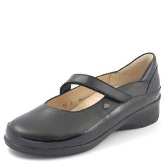 HEMPSTEAD LEATHER SOFT FOOTBED BLACK