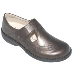Finn Comfort Nashville Leather Soft Footbed Cigar