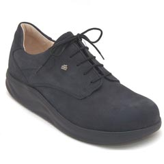 Finn Comfort Pretoria Nubuck Soft Footbed Black
