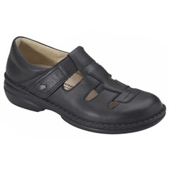 Finn Comfort Quebec Leather Black