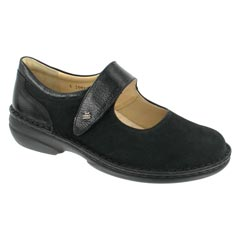 Finn Comfort Sonoma Nubuck Soft Footbed Coffee