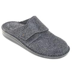 Finn Comfort Tirol Wool Anthracite Clogs