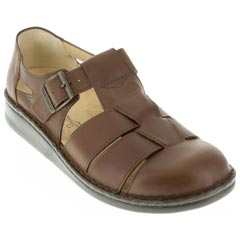 Finn Comfort Tropez Leather Chestnut