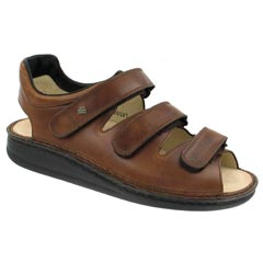 Finn Comfort Tunis Leather Soft Footbed Chestnut