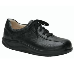 Finn Comfort Watford Leather Soft Footbed Black