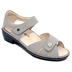 Finn Comfort Easton Nubuck Soft Footbed Rock Sandals