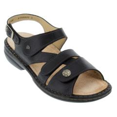 Finn Comfort Gomera Leather Soft Footbed Black