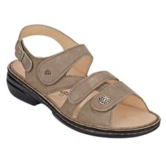 Finn Comfort Gomera Leather Soft Footbed Sand Sandals