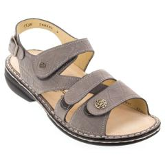 Finn Comfort Gomera Leather Soft Footbed Stone