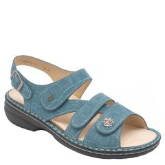 GOMERA LEATHER SOFT FOOTBED turquoise
