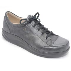 Finn Comfort Ikebukuro Leather Soft Footbed Negro Shoes