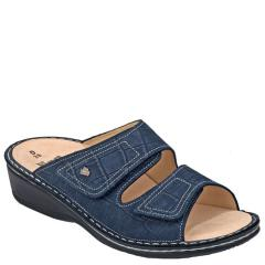 Finn Comfort Jamaica Old Brass Lth Soft Fb Blue