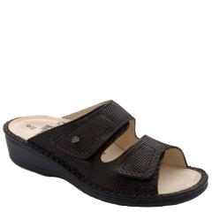 Finn Comfort Jamaica Leather Soft Footbed Kaffee