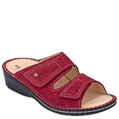 Finn Comfort Jamaica Leather Soft Footbed Rosso