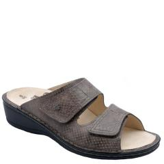 Finn Comfort Jamaica Leather Soft Footbed Taupe