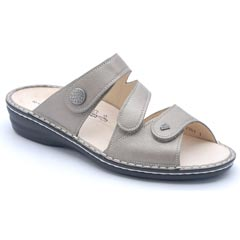 Finn Comfort Lazise Leather Fango Sandals