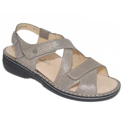 Finn Comfort Leawood Leather Soft Footbed Fango Sandals
