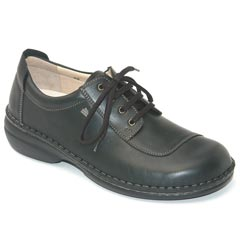Finn Comfort Lexington Leather Black Shoes