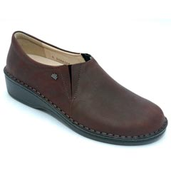 Finn Comfort Newport Leather Bordo Algave Shoes