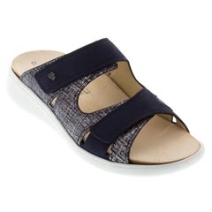 Finn Comfort Palau Leather Atlantic Sandals