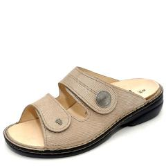 Finn Comfort Sansibar Leather Soft Footbed Sand Sandals