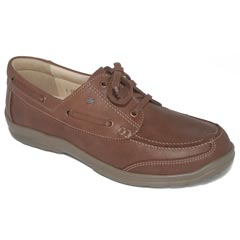 Finn Comfort Surfside Leather Soft Footbed Saddle Shoes