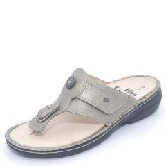 Finn Comfort Wichita Leather Fango Sandals