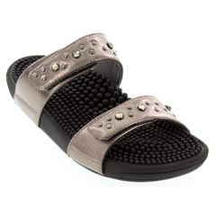 Kenkoh Lotus Pewter Sandals