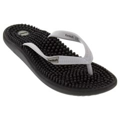 Kenkoh Luna Synthetic Black Sandals
