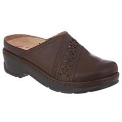 Klogs Syracuse Smooth Leather Coffee