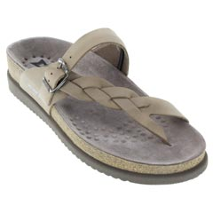 Mephisto Helen Nubuck Light Beige Sandals
