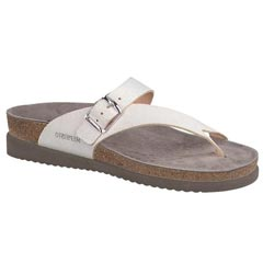 Mephisto Helen Leather White Sandals