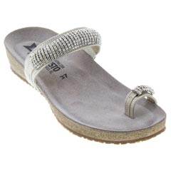 Mephisto Izabel Kidmetal Leather Sand Sandals